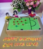 Snooker Cake 3D